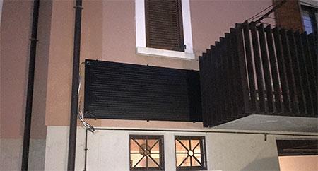 pannello termodinamico parete